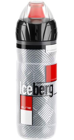 Elite Iceberg - Bidón - 500ml gris/rojo